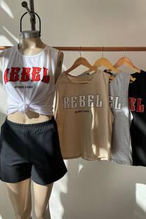 Musculosa Rebel -