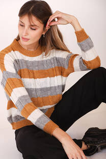 Sweater Rayado Ornella -