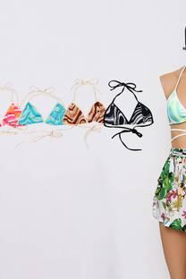 Top Bikini Multi Microfibra #339D -
