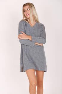 Maxi Sweater Escote V  -