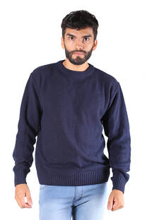 SWEATER BASICO PUNTO ARROZ -
