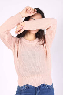 Sweater Corto Irregular -