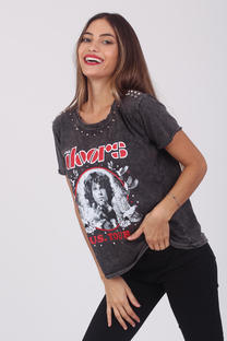 Remera The Doors Tachas Art.100454