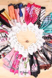 Pañuelos de seda - Surtido X5 -