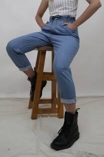 Jean Baggy  con elastico -