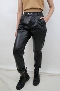 Pantalon Davis Eco Cuero  -