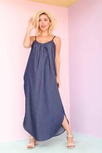 GEMMA - Vestido de jean
