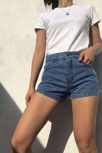 Short Tiro Alto Jean Rigido Kate