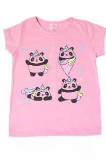 """Remera Kendra """"Pandas"""" -"""