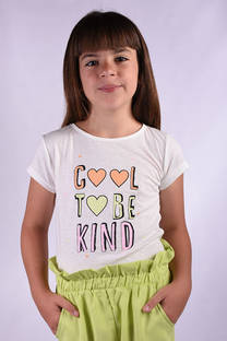 "Remera Kendra ""Cool to be kind"" -"