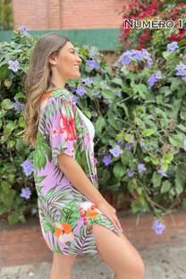 Kimono Fibrana Estampada -