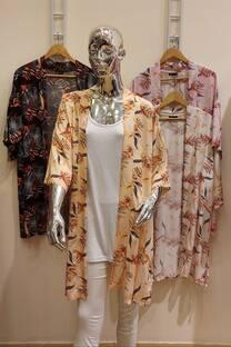 kimono largo over size -
