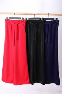 Pantalón con  lazo  -