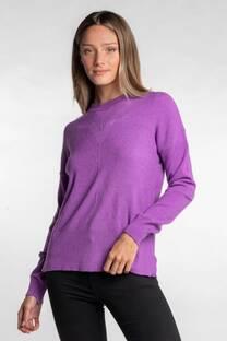 Sweater con rombo -