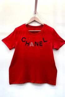 Remera Letras Chanel -