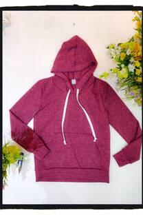 Buzito hoodie canguro -