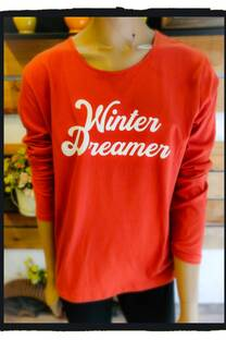 Remera algodon basica Winter Dreamer -