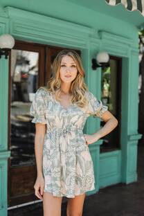 Vestido Lino Carrie -