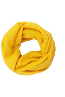 Cuello de lana liso tubular unisex colores tierra. Medidas: 95 cm x 30 cm -