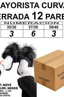 MAYORISTA NIEVE NEGRO X12 -