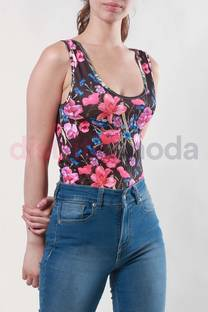 Body Musculosa Flor -