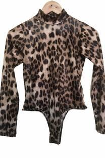 Body leopardo engomada -
