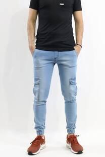 Pantalon Cargo Jean