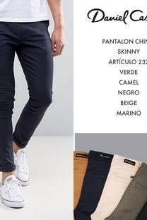 Pantalon chino skinny -