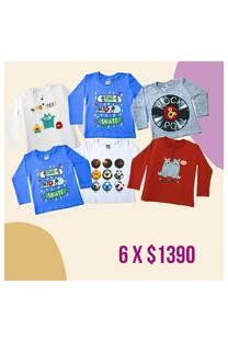 Pack x 6 prendas bebe