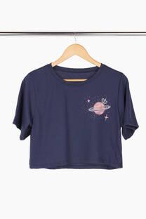 Remera Saturno algodón -