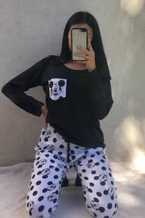 Conjunto Pijamas Mickey Mouse lunares -