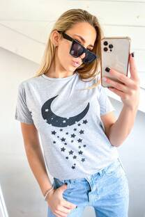 Remera Luna Estrellas  -