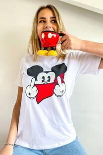Remera Mickey Pañuelo -
