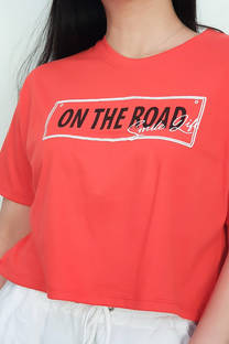 REMERA ON THE ROAD -