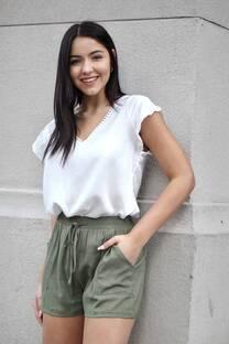Shorts de Lino Ellen -