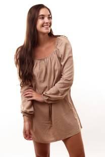Vestido  paisana elastico -