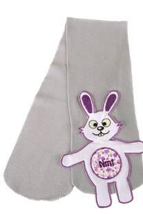 Bufanda con bordado conejo -