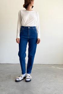 Jean slouchy ema azul  -