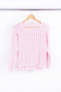 Sweater Calado Mediano -