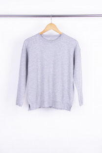 Sweater Liso Corto -