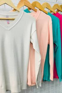 SWEATER ESCOTE V -