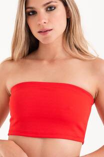 top strapless crepe -