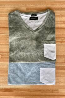 Remera algodón batik -