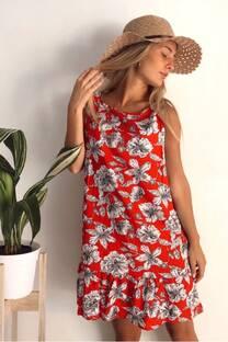 vestido alamo fibrana  -