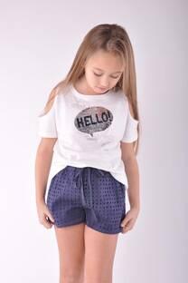 Remera Hello  -