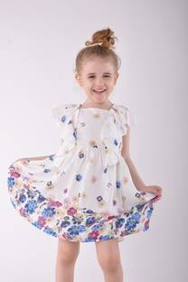 Vestido floreado -