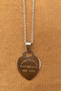 Corazón Tiffany & Co Acero quirúrgico
