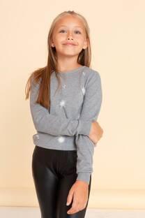 Sweater con pompon -