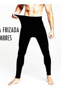 calza termica frizada de hombre