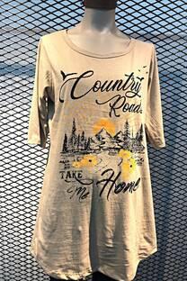 Vestido Country road.. -